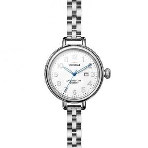 { Shinola } The Birdy 34mm Watch Silver